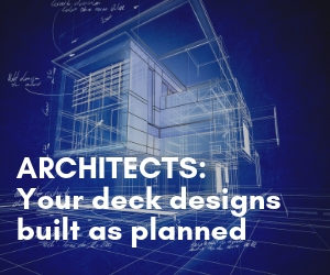 Architects: Your deck designs built as planned