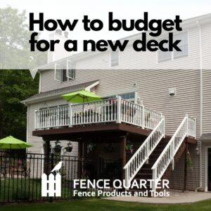 how to budget for a new deck